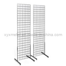 2 'X 6' Gridwall Panel Tower com T-Base Floorstanding Display (GW26B)