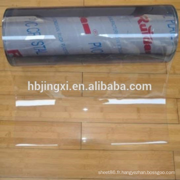 feuille de PVC feuille de pvc claire feuille de pvc souple