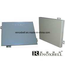 Solid Aluminum Panel with PVDF Coating for Construction Wall Material