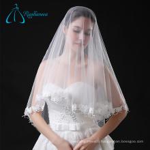 Elegant Accessories Lace Appliques Wholesale Tulle Wedding Veil