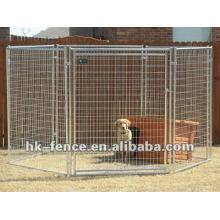 Venda de canil de cachorro de arame soldada (fábrica)