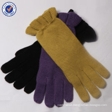 2015 New Design wool and cashmere knitting glove MRST01 Blended glove wholesale