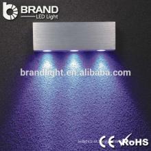 Lâmpada de parede de alumínio de brilho super super de venda quente levou para decoração interior