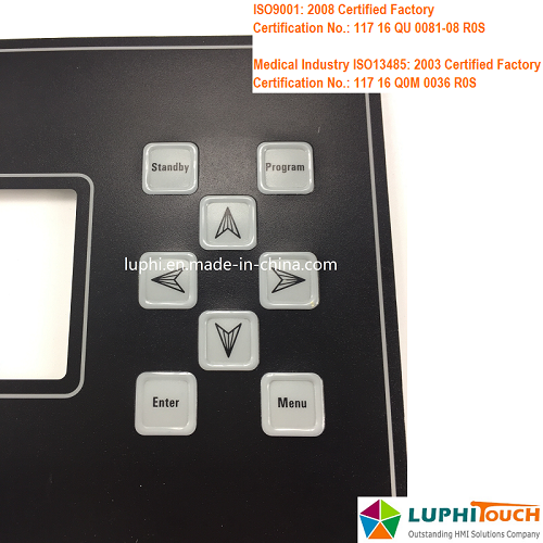 Packing Machine LED Backlighting Front Panel Keypad