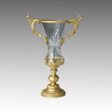 Хрустальная статуэтка статуи вазы Бронзовая скульптура Tpgp-005