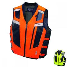 Special design high visibility reflecting motorcycle vest