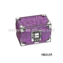 caixa de relógio único de alumínio de luxo do fabricante de China