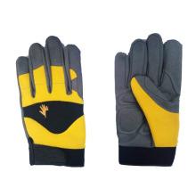 Большой сертификат CE дышащий рабочие перчатки механика