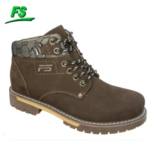 european rubber leather men working boots