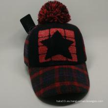 Gorra de béisbol caliente cómoda gorra de invierno