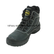 Professional Nubuck PU+TPU Outsole Safety Shoe (HQ03029)