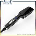 Professional Ceramic Hair Straightener Brush and LCD Temperature Display