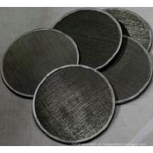 Black Wire Cloth Filtro / tela do filtro de malha