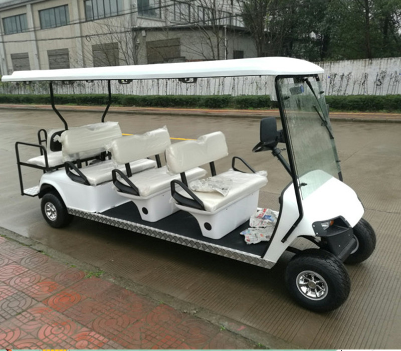 Latest environmental gas powered tour car