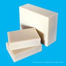 Folha de acetato de plástico POM de engenharia