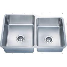 Under Mounted Waterproof Handmade Kitchen Sink (KUD3221-N)