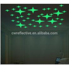 reizender reflektierender prismatischer PVC-Film-Blattaufkleber