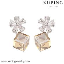 E-11 tendencias de nuevos productos de moda de cristales de lujo de Swarovski, pendientes