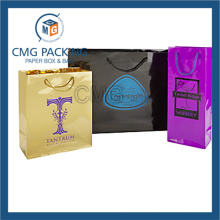 High Glossy Logo Printed Paper Bag (DM-GPBB-147)