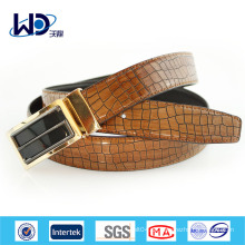 Durable Brown Alligator Herren Fancy Gürtel
