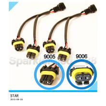 Fils de séparateur de faisceau élevé de 9005/9006 pour le harnais de fil de phares de projecteur de quadruple / double