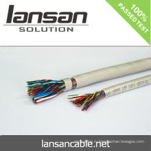 LANSAN Высокоскоростной 100-контактный телефонный кабель с ПВХ-оболочкой 0,5 мм Голый проводник CE UL ISO APPROVAL