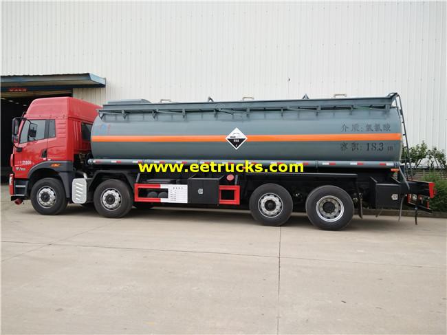 FAW Hydrochloric Acid Transport Vehicles