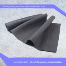 tissu d'enlèvement d'odeur de tissu de carbone activé tissu de filtre de carbone