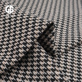 Cotton Houndstooth Jacquard Fabric For Garment Accessories