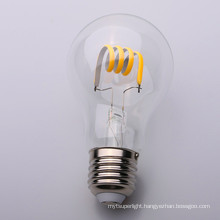 High Brightness E27 6W G60 Light Soft LED Filament Bulb