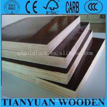 Plywoodmanufacturer enfrentado filme / madeira compensada marinha / madeira compensada impermeável / madeira compensada da construção de 18mm