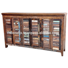 recycle wood sideboard