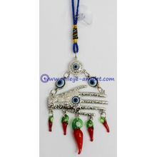 Evil Eye Hamsa home decor feng shui ornaments red pepper