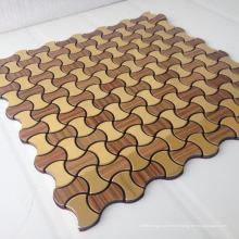 Tuile de mosaïque en aluminium en forme de lanterne