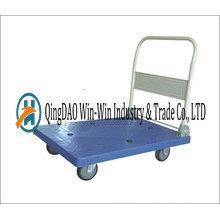 Carro de mano de la plataforma del pH 3012 con el neumático mudo de 5 '' PP