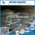 chicken cage system device equipped with automatic feeding system
