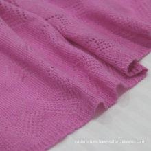 Las señoras hermosas liberan el estilo merino puro de la lana de punto Bufanda dubai bufanda merino lana Chal fábrica de ventas (aceptar personalizado)