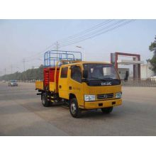Dongfeng electric scissor lift table truck for sale