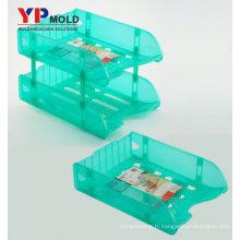 Personnalisé Top qualité utilisation polyvalente fichier bureau fournitures en gros à vendre en plastique moulage par injection / outillage