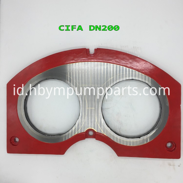 cifa 200 concrete pump wear plate _