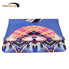 Forme et forme écologique Superfine tapis de yoga de fibre
