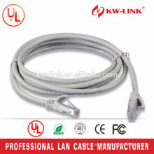 Cable Flexible CAT6 UTP CCA Stranded 24awg