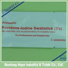 Povidone Iodine Swabstick 3 pcs per pack
