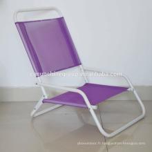 Promotion chaise pliante de plage à vendre de Chine fournisseur