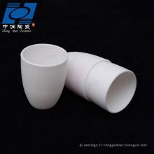 céramique blanche d'alumine résistante à l'usure