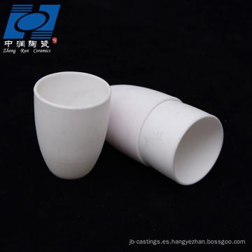 Cerámica de alúmina blanca resistente al desgaste.