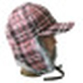 Gestrickte Mütze mit POM POM NTD1603