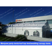 Marquee party tents 10x15m in herringbone roof top shape