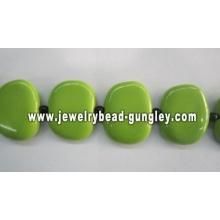 Hand-painted Ceramic beads