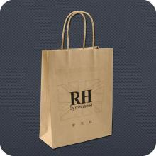 Premium Kraft Paper Bag with Twist Handle